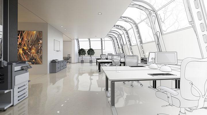 Bürotechnik Installation