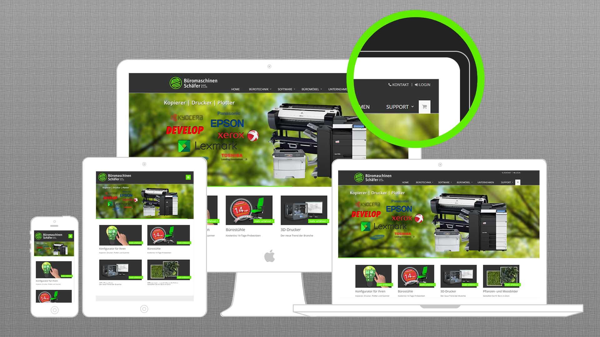 Neue Website - Bild