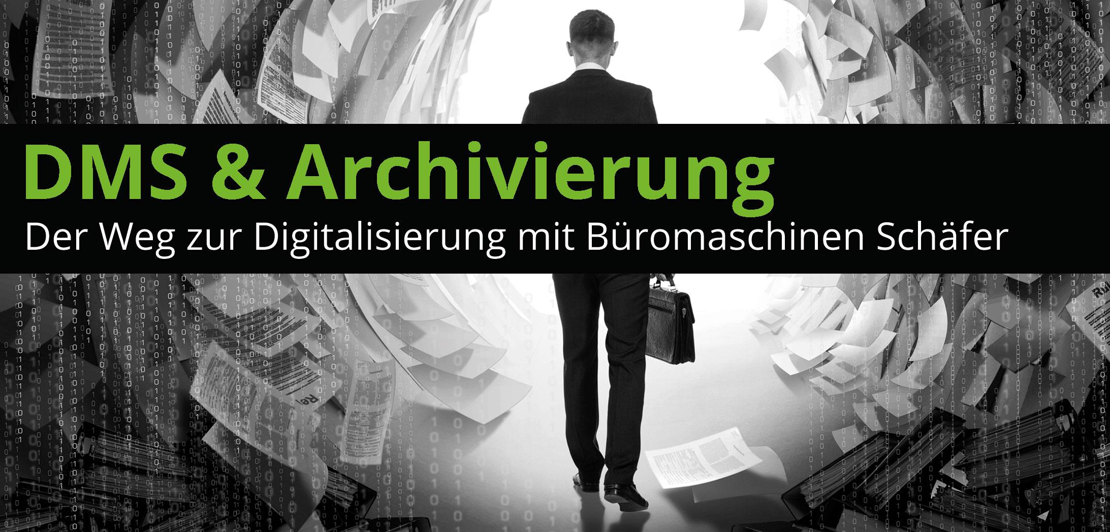Der Weg zur Digitalisierung mit Büromaschinen Schäfer - Bild