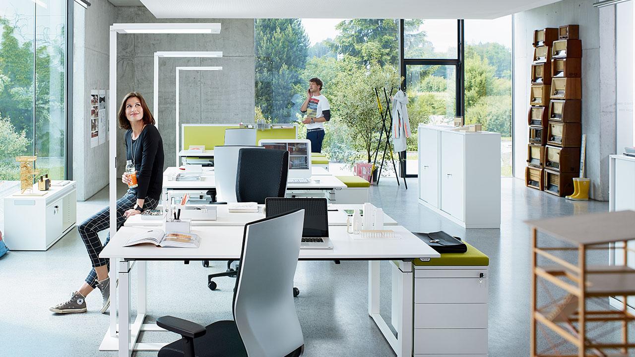 Licht im Büroalltag - Bild